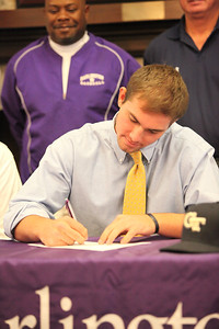 Cole Miller signs with GA Tech 11-11-11