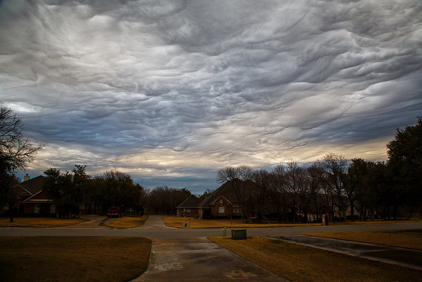 Asperatus Clouds Over Fort Worth