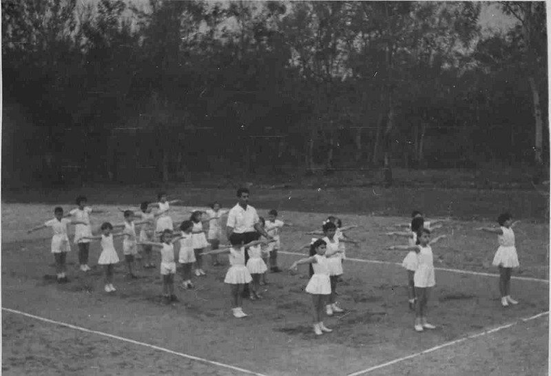Andrada - Classe de ginastica Professor- Pinto Soares