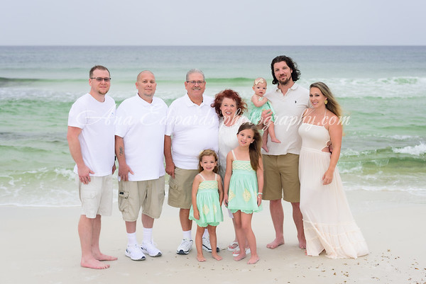 The Buchanan family     Panama City Beach