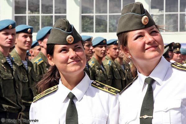 Ryazan Higher Airborne Command School graduation 2011