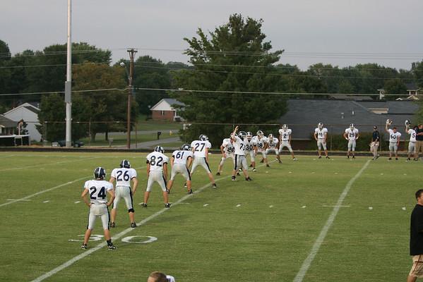 MCHS varsity vs Taylor Co. 8-29-08