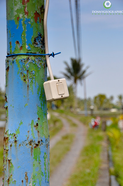 Ubud power outlet