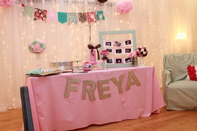 Freya's Button Themed Baby Shower