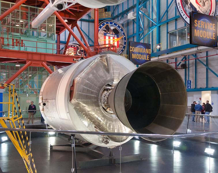 Apollo Saturn V Command and Service Module