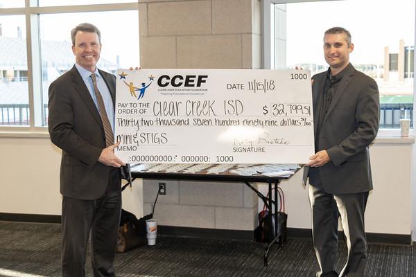 CCEF Mini & STIG Grant Reception