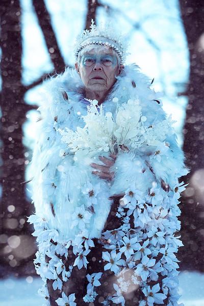 Grandma snow