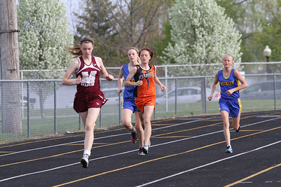 Cadillac News Meet 3200M Girls