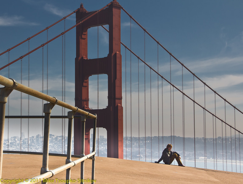 San Francisco. Golden Gate