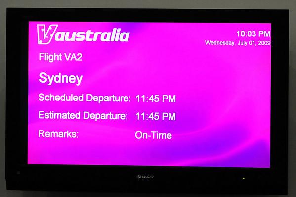 Travel to Australia, July 1-3, 09