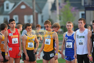 Men's 10,000 - 2013 GLIAC Outdoor Track and Field Championships