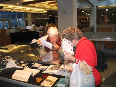 Lillian in San Jose State Library Book