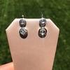 .85ctw Antique Table Cut Diamond Double Drop Earrings 7