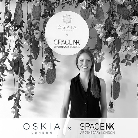 PHOTOS/GIFS - Oskia x SpaceNK