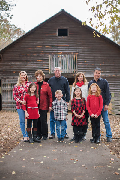 Johnson/Snyder Family Fall 2017