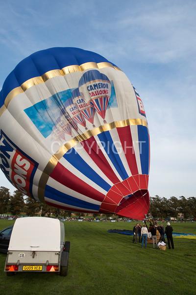 The 1st York Balloon Fiesta, 2017   .