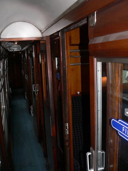 The compartment coach.