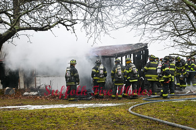 Garage Fire - South Country Rd, East Patchogue, NY - 2/27/21