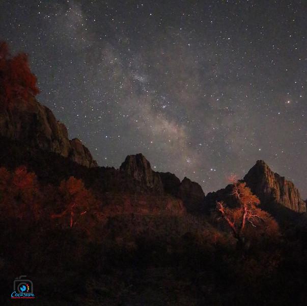 Milky Way, Zion National Park, Utah