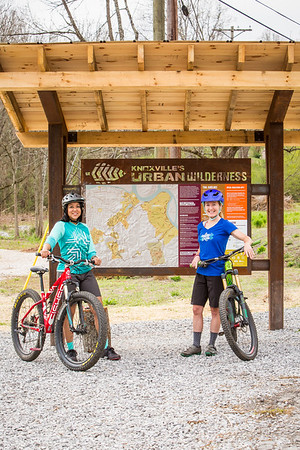 Missy and Shellie for the Bell Joy Ride 3rd Coast Women's Enduro