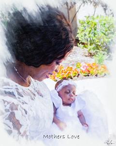 Mrs Adams Twins Baptism