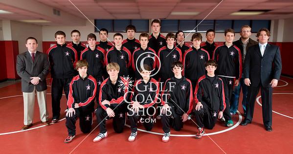 2010-01-08 Wrestling Varsity SJS Team photo