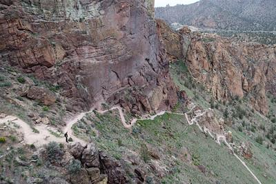 Misery Ridge Trail in Smith Rock SP