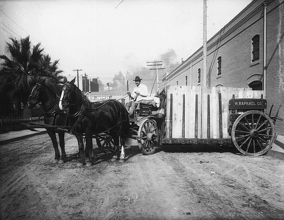 1900, H. Raphael Horse Wagon