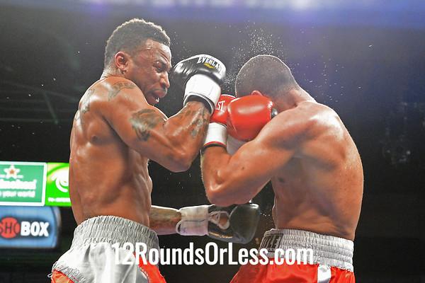 "Bout #3:  Joell Godfrey, Fayetteville, NC 16-11-1  vs  Marcus ""Ratinho"" Oliveira, Brazil via Miami, FL  23-1-1"