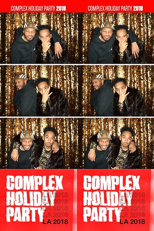 Complex Holiday Party (GIF Booth)