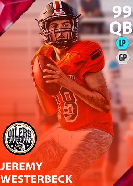 HBHS Football Ultimate Team Cards