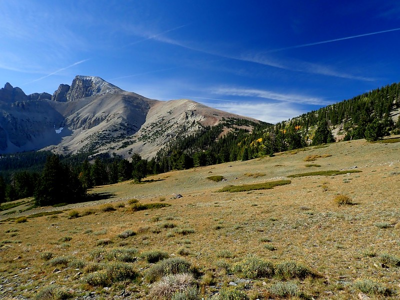Wheeler Peak Great Basin National Park Nevada