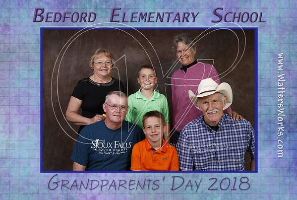 Bedford Elementary Grandparents Day Friday 2018