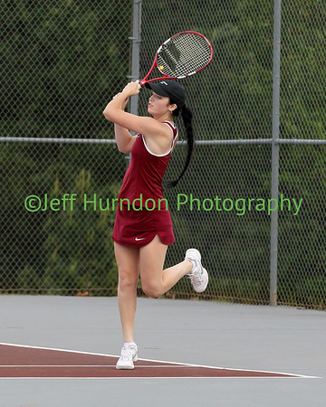 UGHS Girls tennis 4-18 and 28-2017