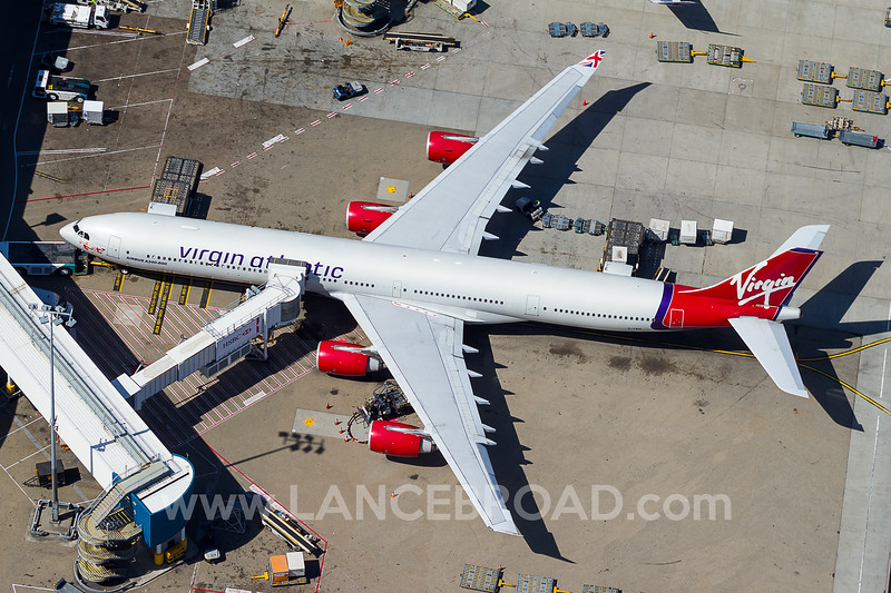 Virgin Atlantic A340-600 - G-VWIN - SYD