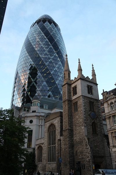 City of London, England - August, 2010