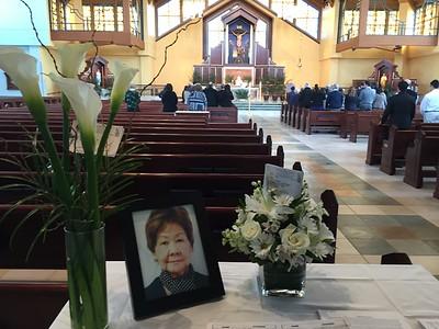 Yvonne's Memorial Mass, March 28, 2015