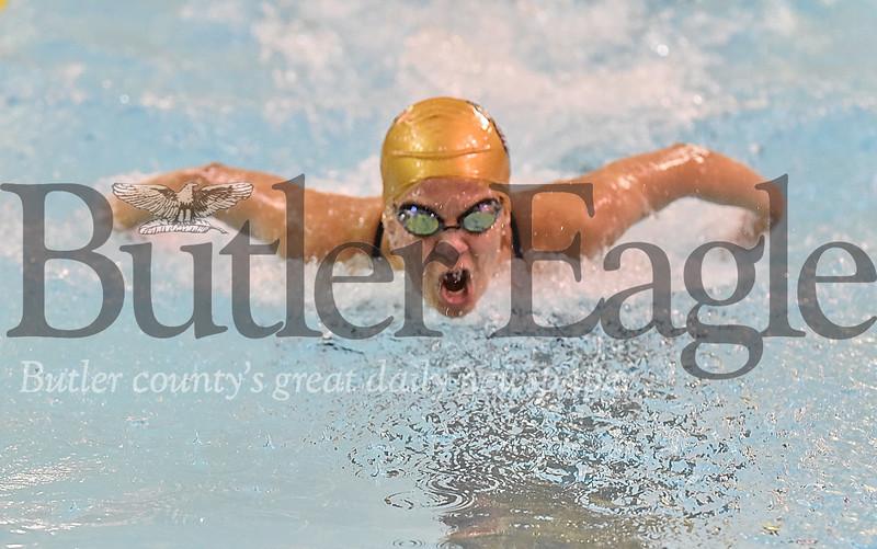 54929 Butler vs Hampton  swim meet at Butler High School