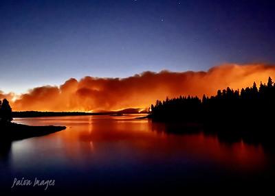 20210831 Lake Davis FIRE