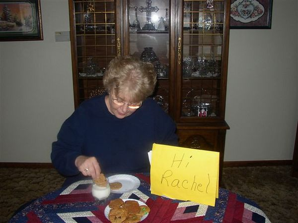 Cookies with Grandma -- 1,000 miles apart