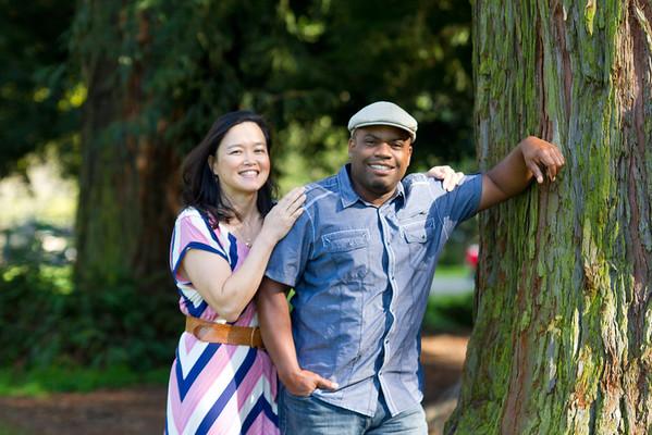 Yvonne & Chris - Lake Temescal