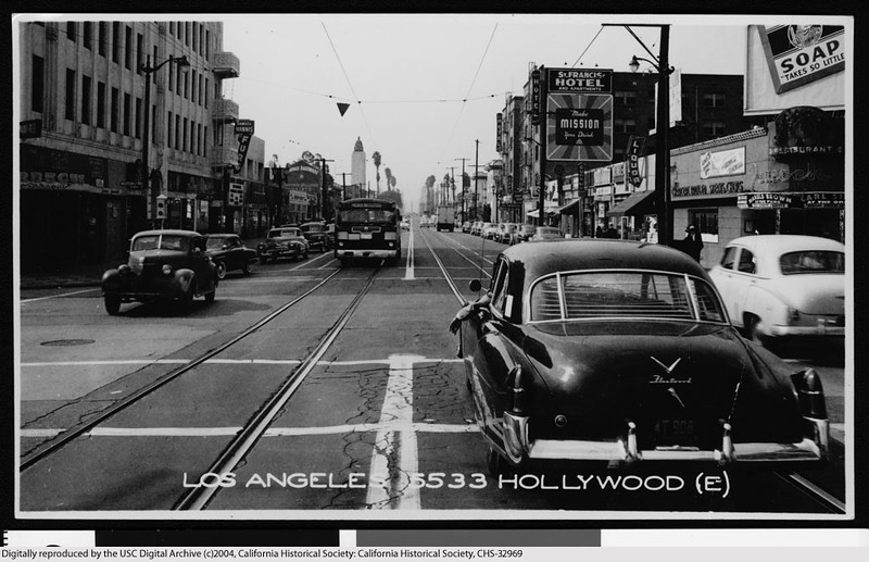 Hollywood Boulevard at Western