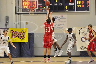 South County Stallions v George Mason Mustangs Boys, Wednesday, December 30, 2009, Pohanka Basketball Tournament