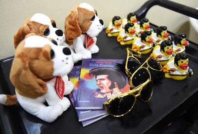 Celebrating Elvis' birthday at Avon Lake Library