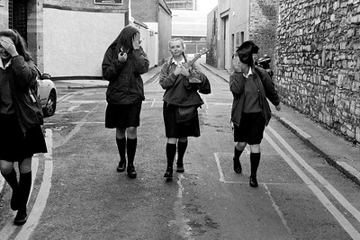 Catholic schoolgirls in Dublin