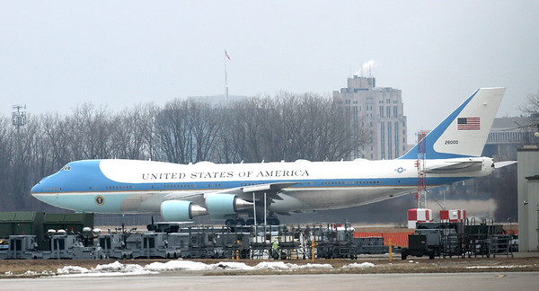 Donald Trump (Angell)  visit to Warren Jan. 30 2020