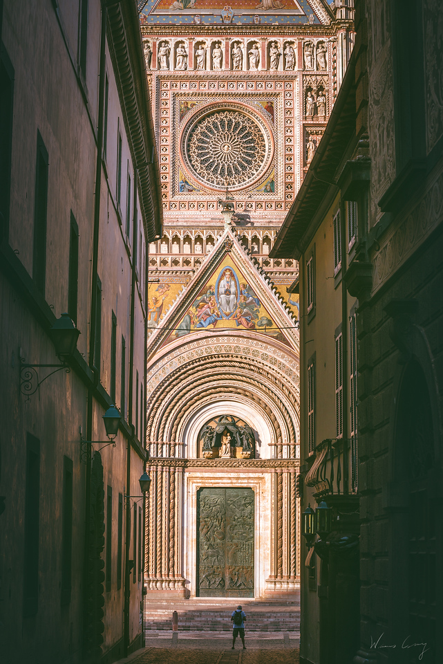 一個地表兩個世界 義大利奧維多遊記 by  旅行攝影師張威廉 Wilhelm Chang