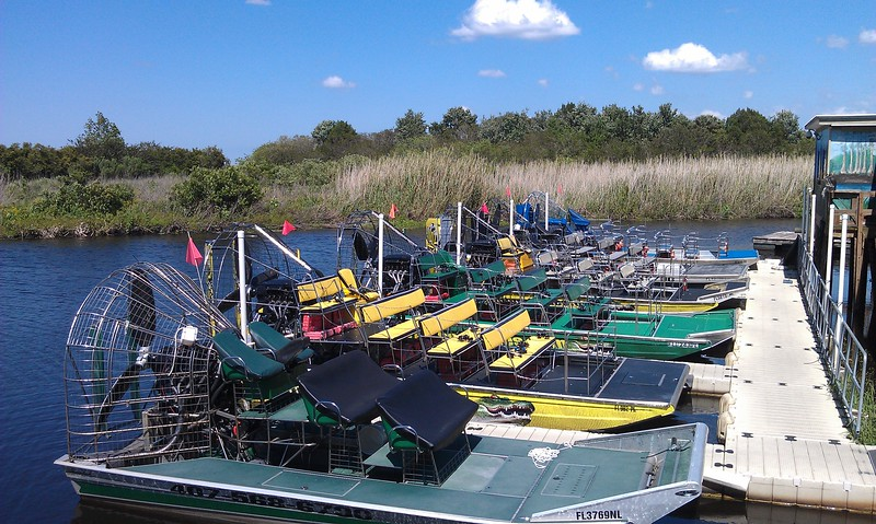 Airboats at Airboat Rides at Midway