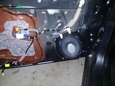 2012 Toyota Camry Front Door Speaker Installation - USA