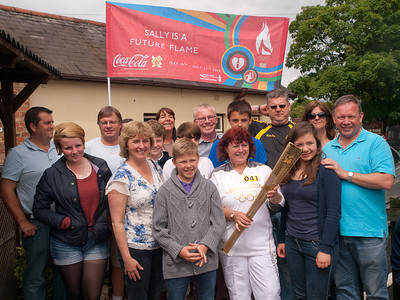 Olympic Flame Relay, Ware